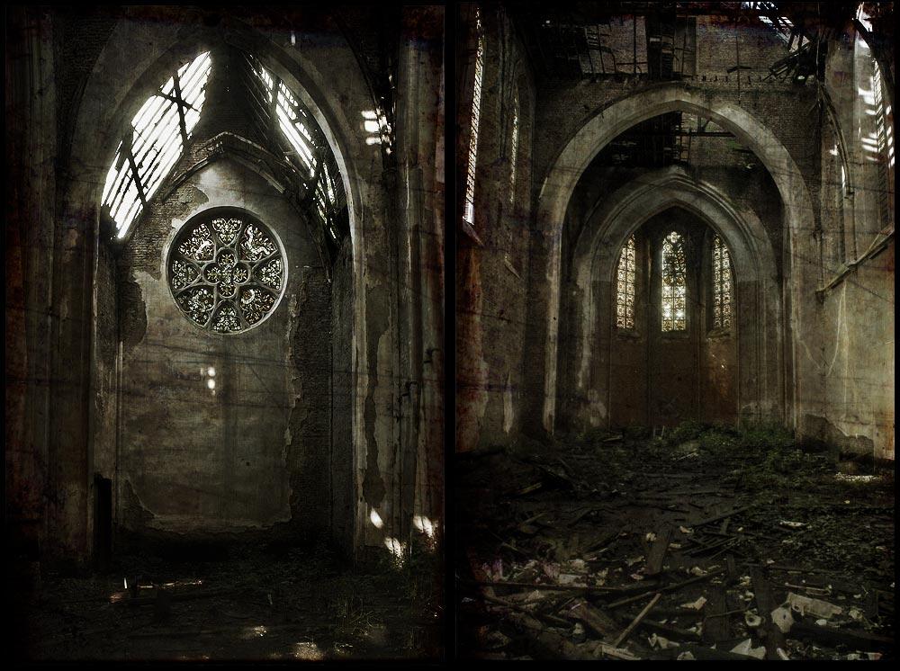 le church noir