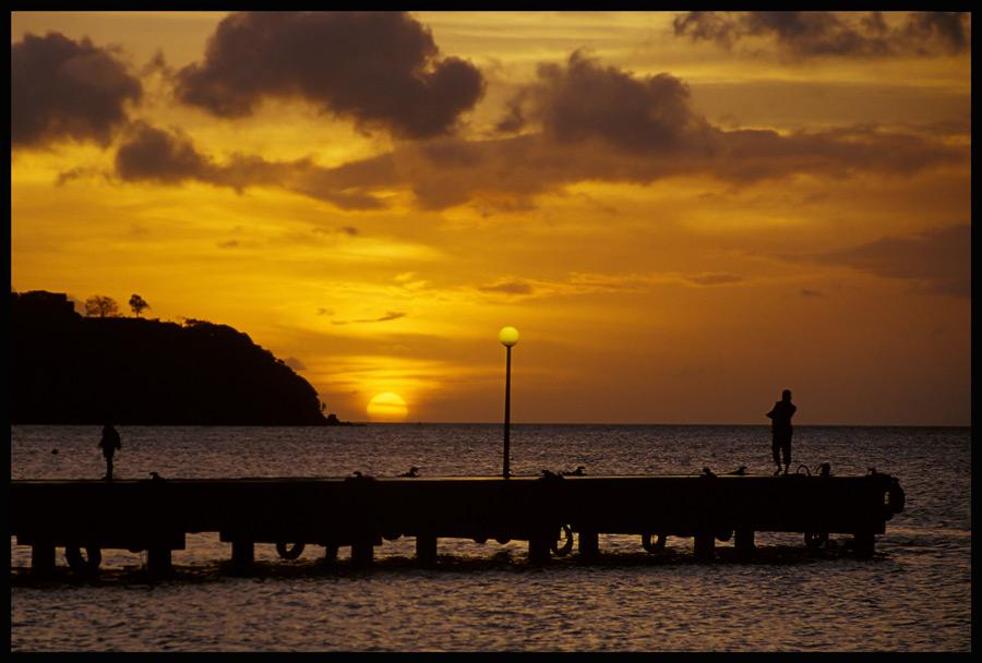 Le ciel de la Martinique