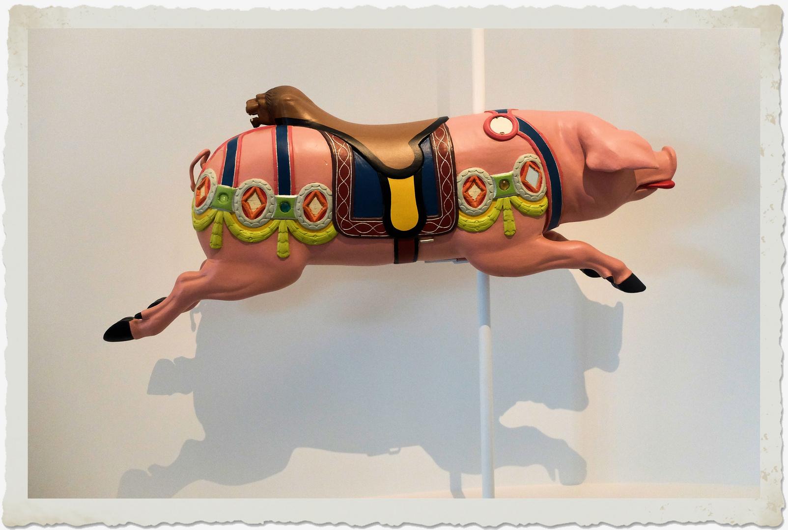 Le cochon rose