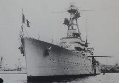 """Le croiseur lourd """"Dupleix"""""""