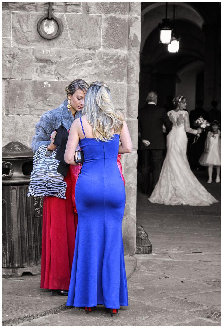 Le damigelle della sposa.
