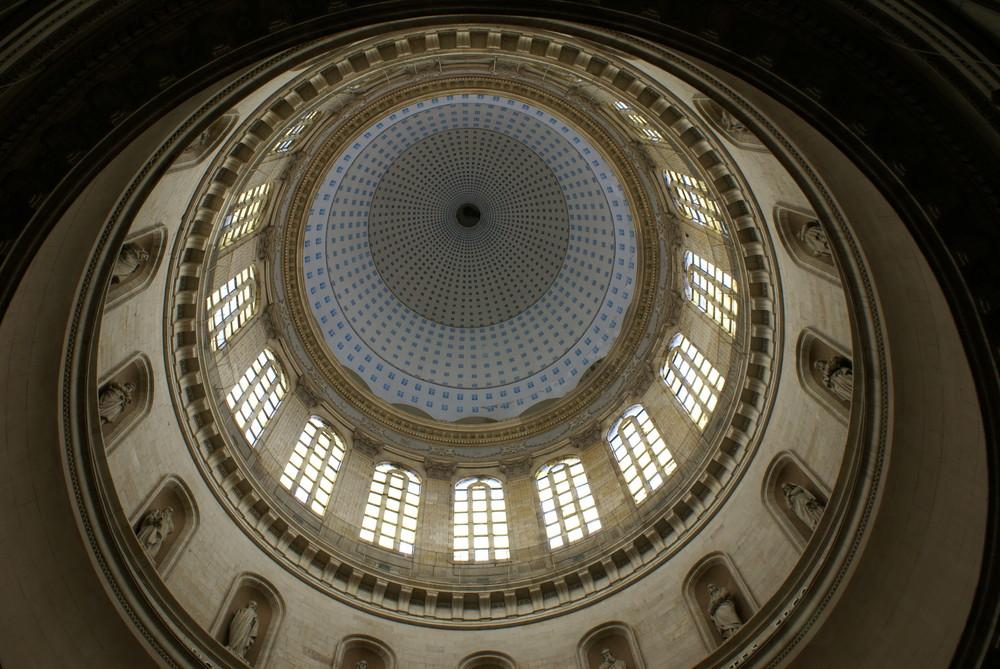 Le dôme de la cathédrale de Boulogne-sur-mer
