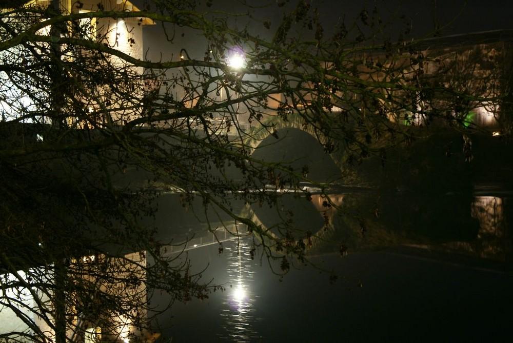 le Doubs, la nuit