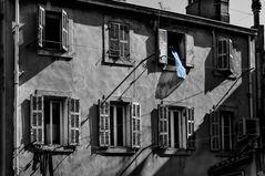 Le drap bleu