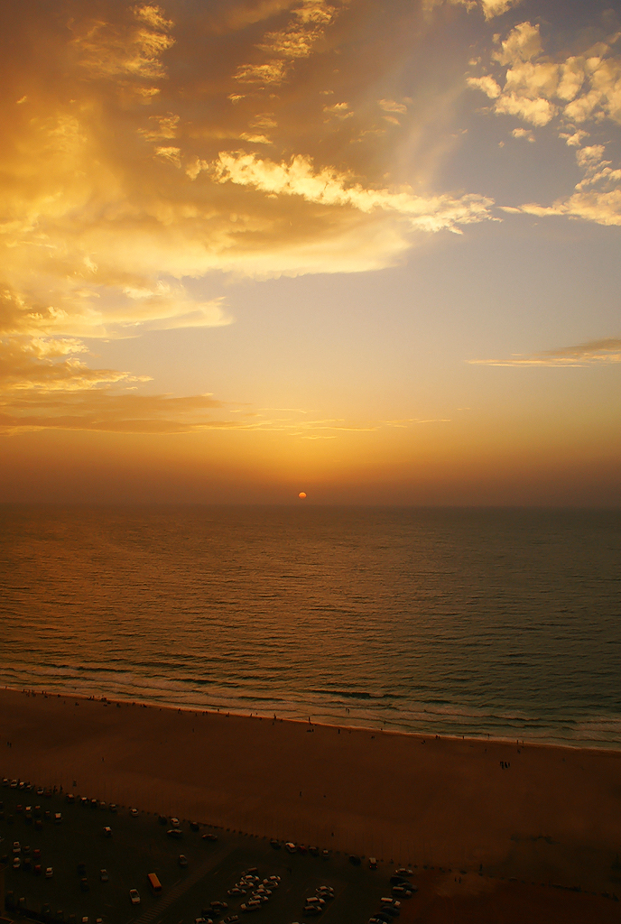 Le due faccie del tramonto...