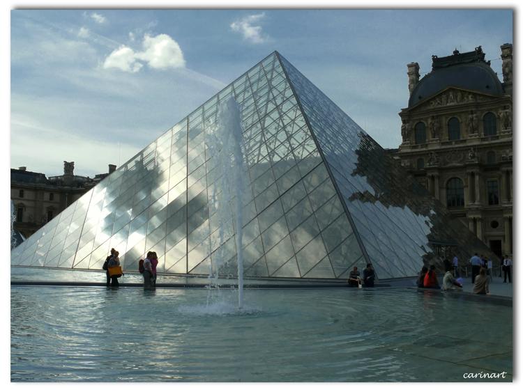 Le fantôme du Louvre / Das Gespenst des Louvre