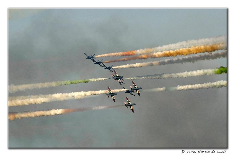 Le Frecce Tricolori ***
