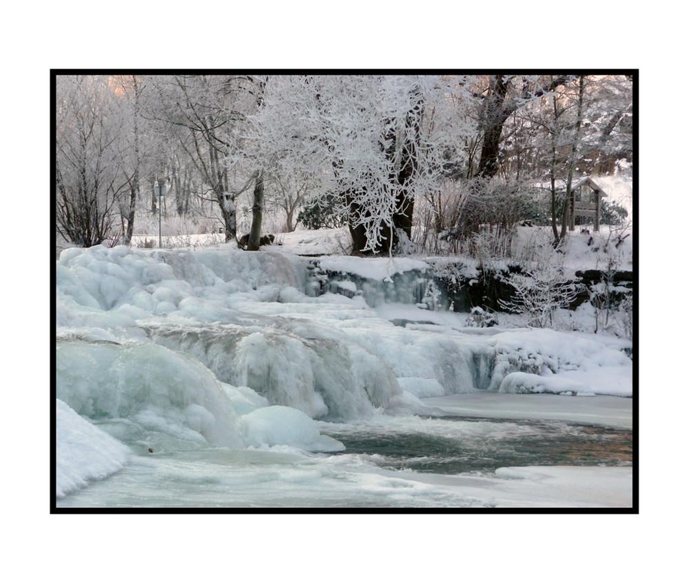 Le froid glacial