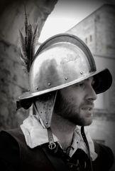 le garde du Fort Vauban ....