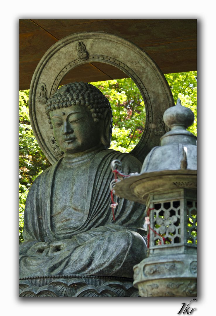 Le Grand Bouddha (Daibutsu) de Mariemont - Belgium