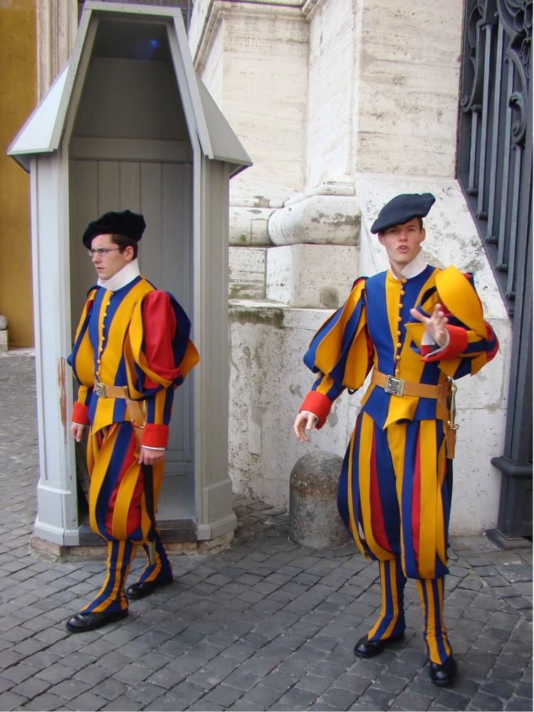 Le Guardie Svizzere