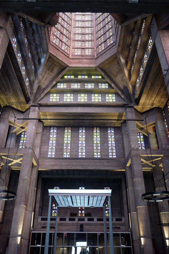 Le Havre - Kirche Saint Josef - Innenansicht
