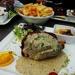 Le jambonneau au four, sauce dijonnaise