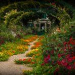 Le jardin de Claude Monet....