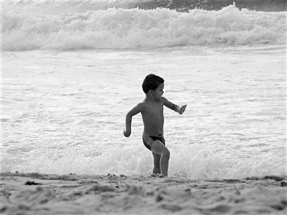 le jeu des vagues... retravaillé !