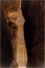 Le « Khazneh » ou « Trèsor »  --  Petra