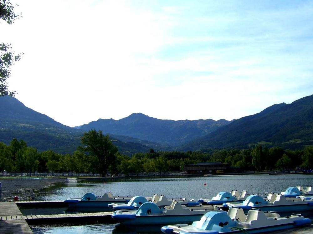 Le Lac à Embruns, le Matin