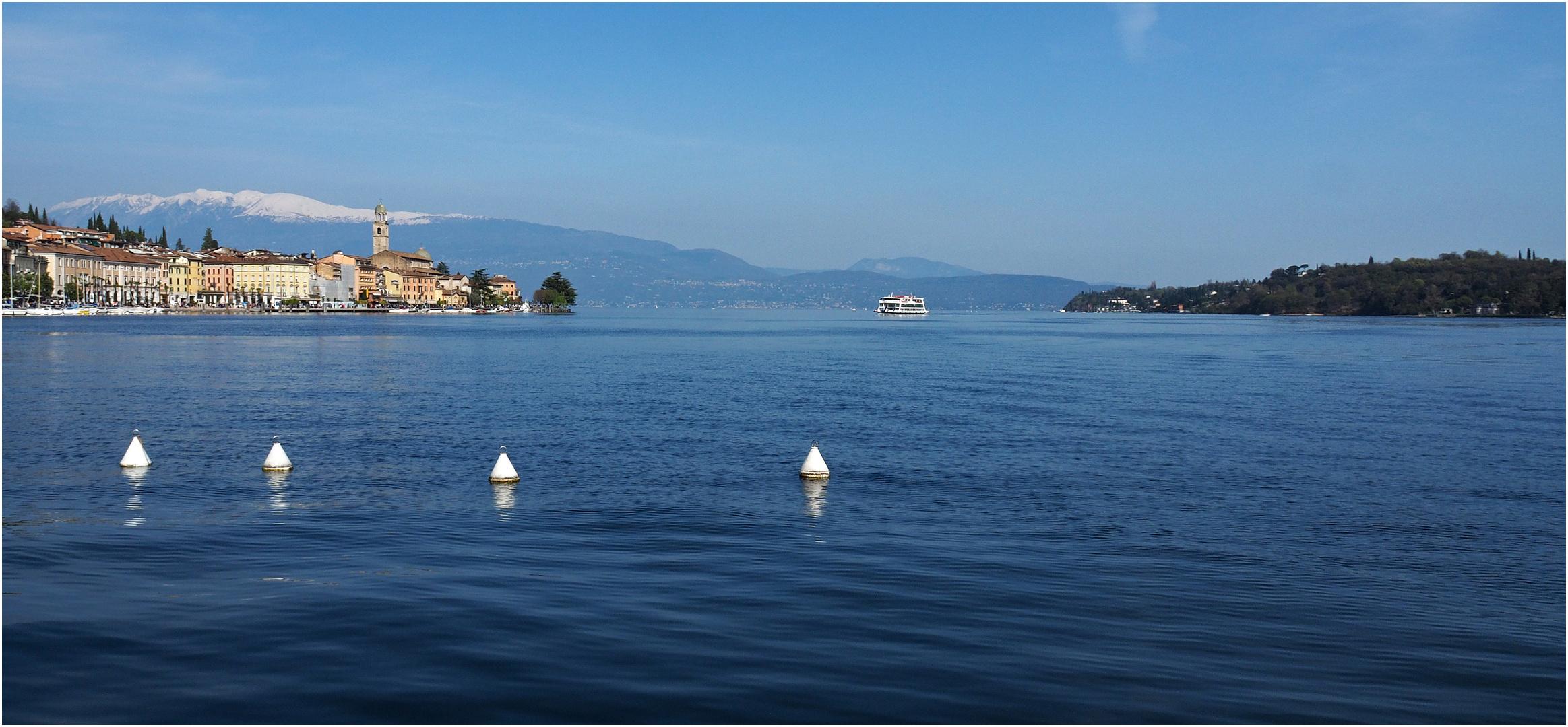 Le lac de Garde dans toute sa splendeur...