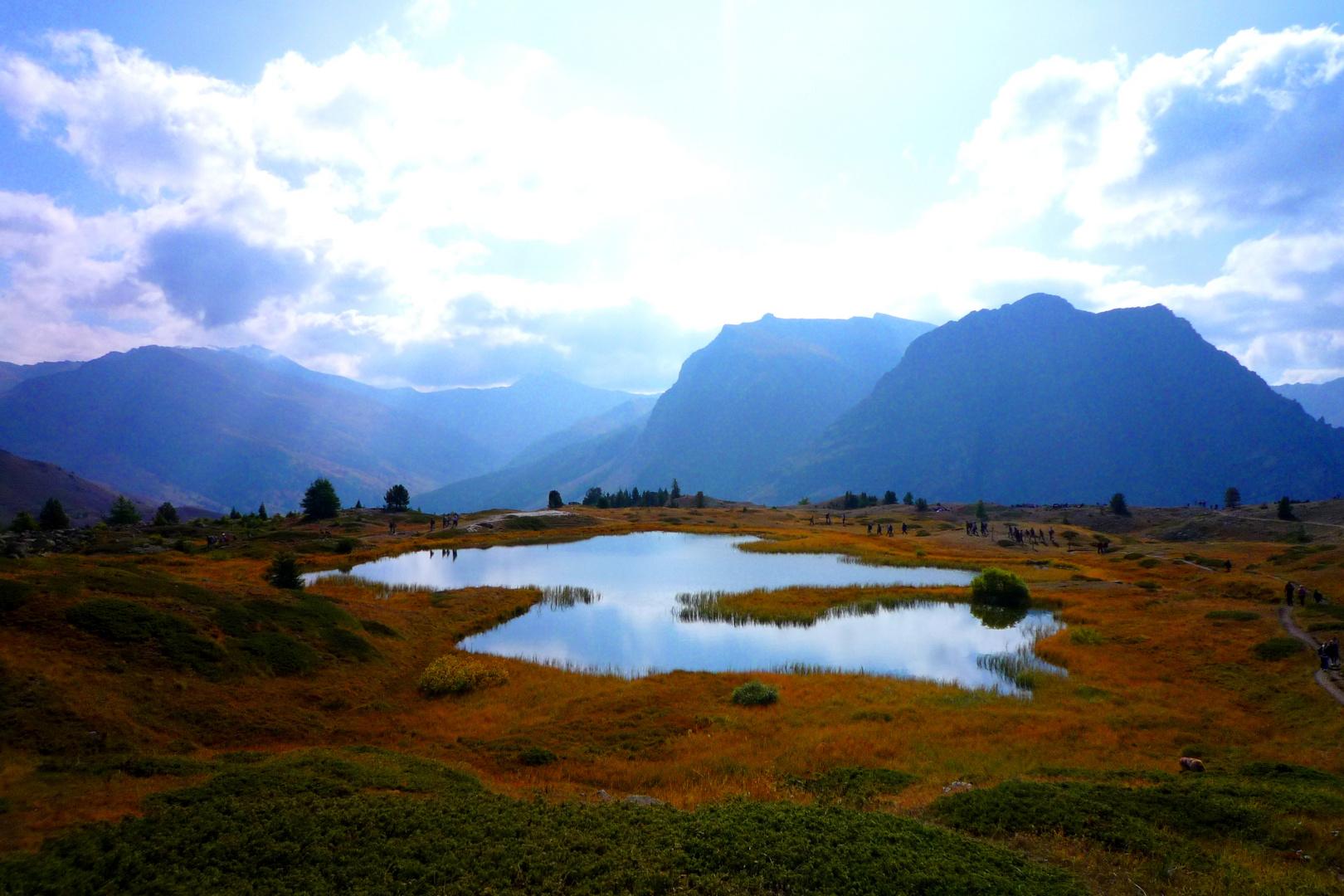 Le lac des marmottes...