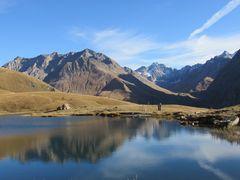 ..Le Lac du Pontet, en automne..