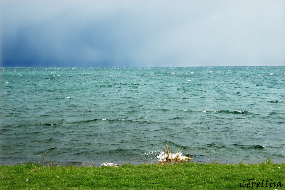 Le lac Léman, depuis Anthy