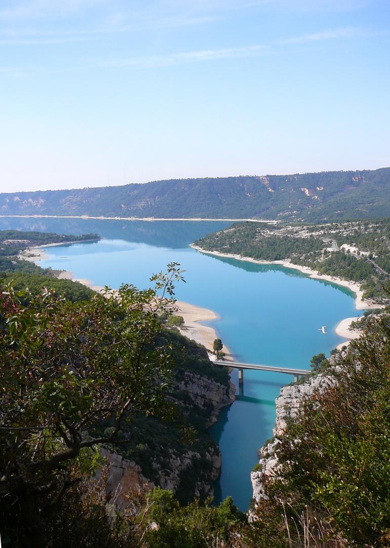 Le lac Ste-Croix en France