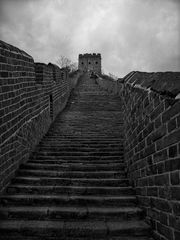 Le long de la grande muraille