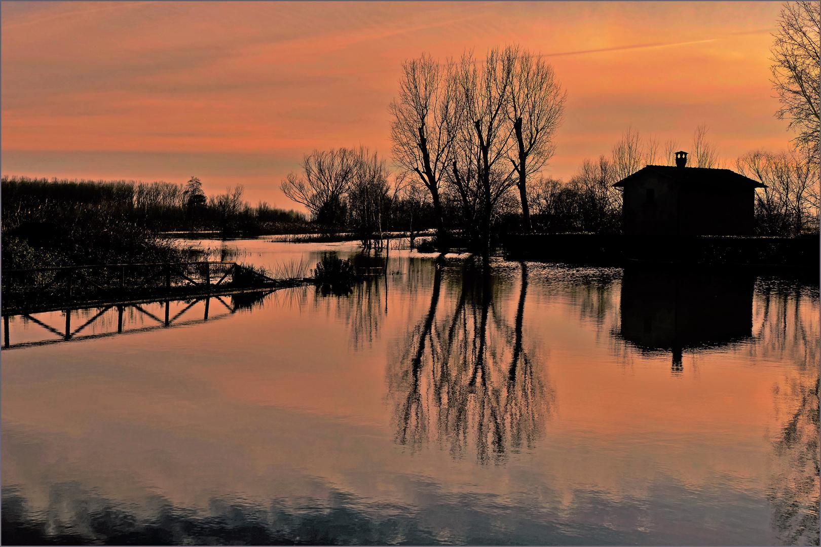 le marais inondé:  3éme tableau 16h30
