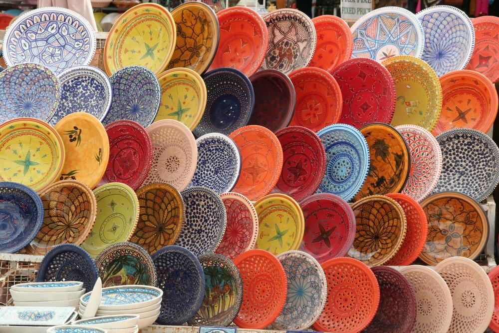 Le marché de Houmt Souk à Djerba