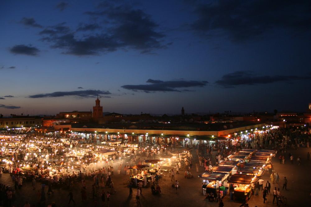 le marché de marrakeche