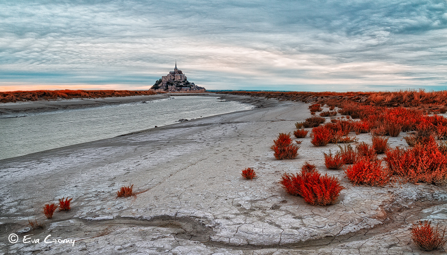 Le Mont St Michel, Normandy