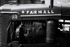 Le moteur du tracteur
