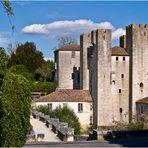 Le Moulin des Tours et le Pont roman de Barbaste  --  Lot-et-Garonne