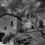 Le moulin du Bournat en Dordogne