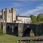 Le moulin fortifié de Barbaste (Lot-et- Garonne) et le Pont Roman sur la Gélise