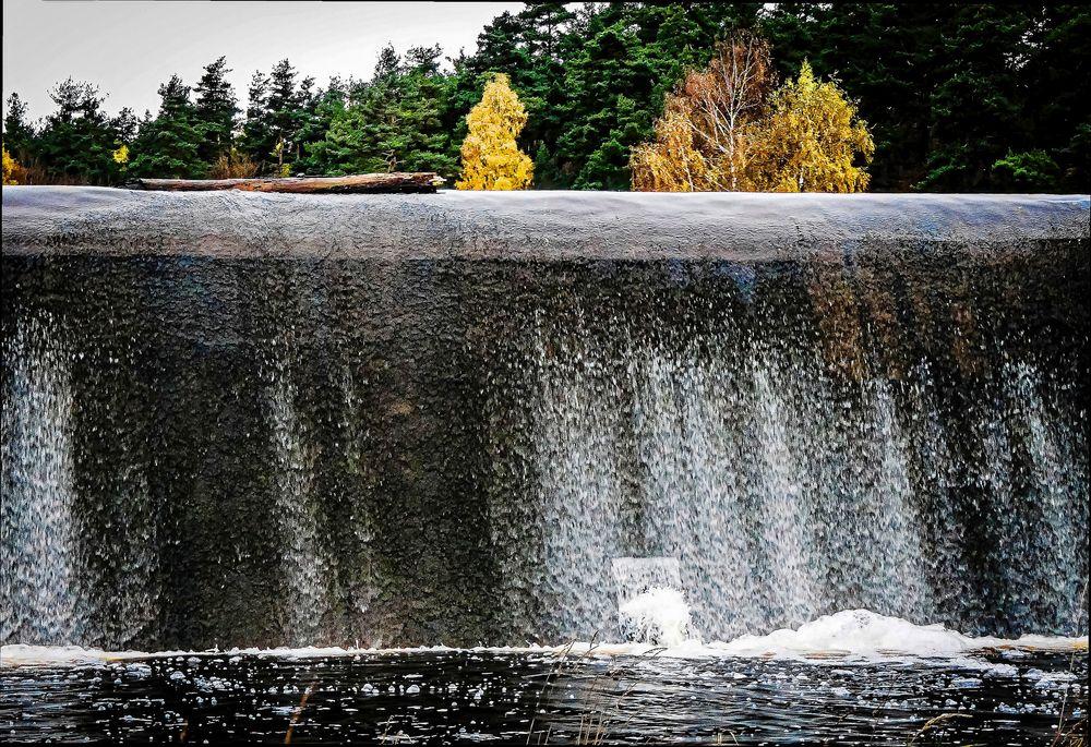 Le mur d,eau