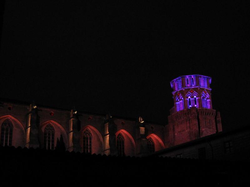 Le musée des Augustins illuminé