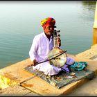 Le musicien du Lac Gadi Sagar