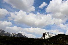le nuvole del Monte Gelè