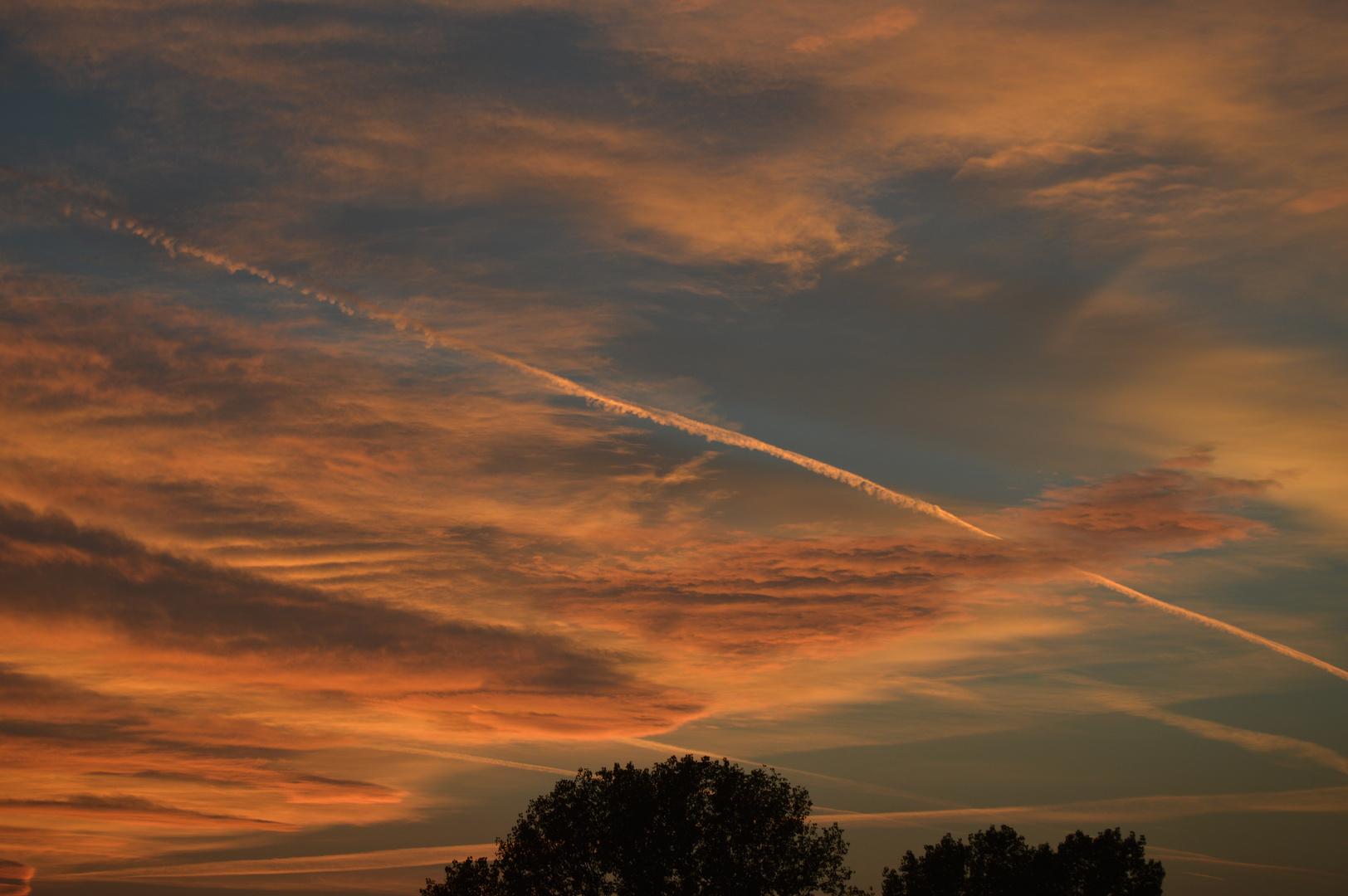 Le nuvole sono incantesimi sopra di noi