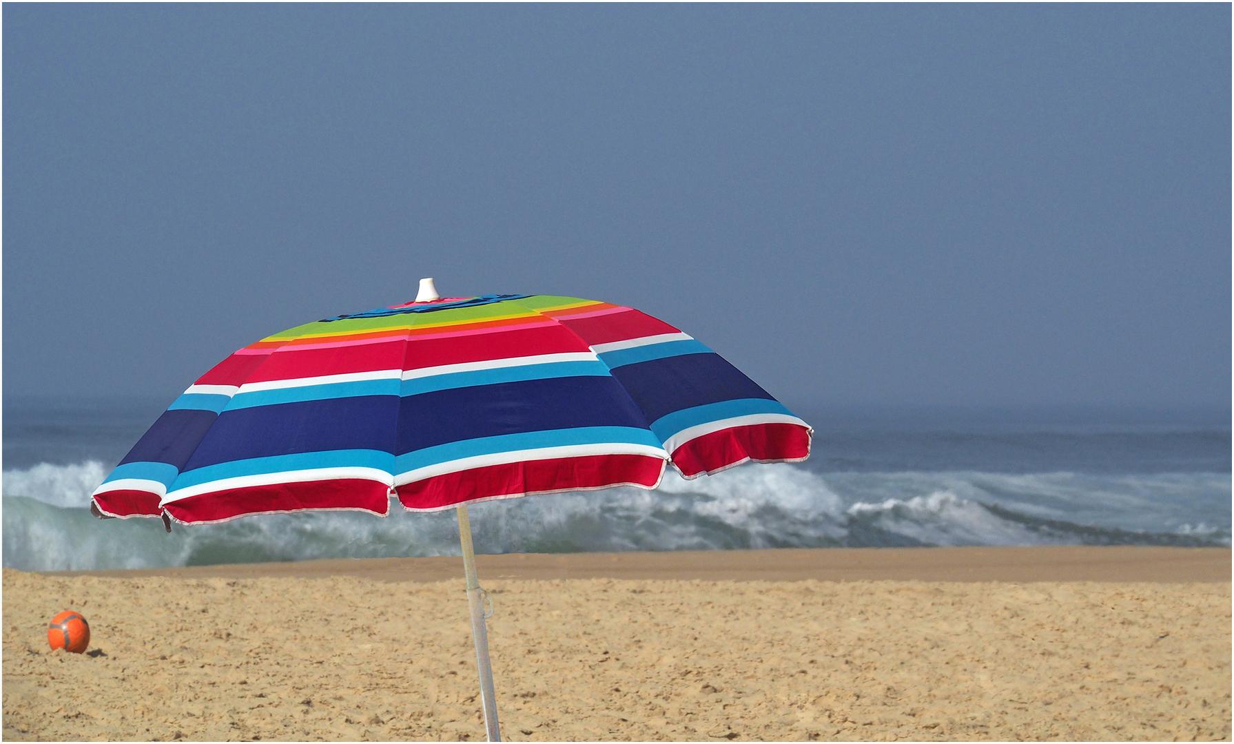 Le parasol du nouvel an…
