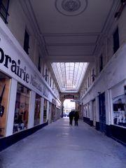 Le passage de la librairie Oller - Nimes