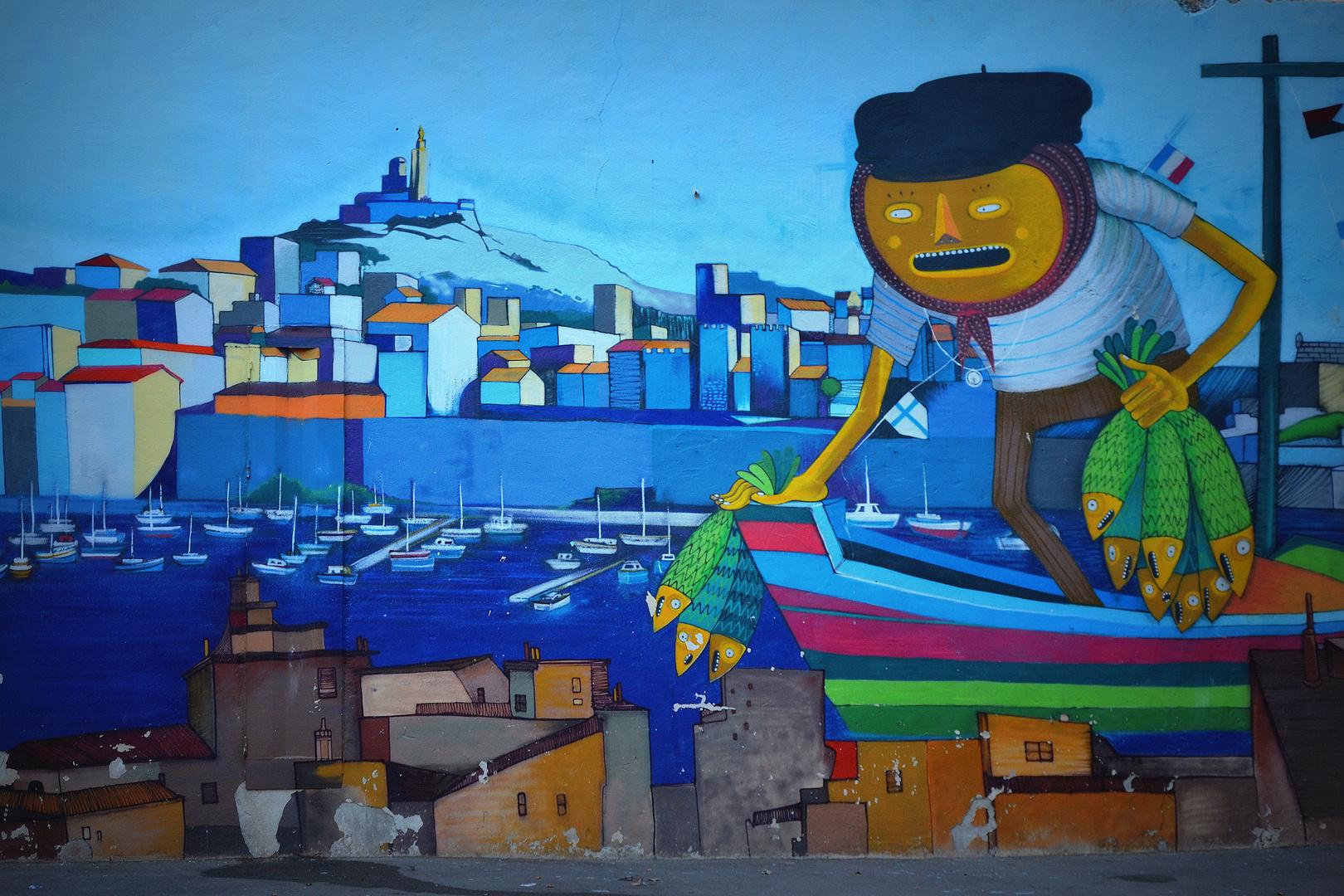 Le pêcheur de Sardines et le Vieux Port