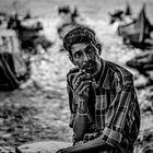 Le pecheur de Kochi au KERALA 4