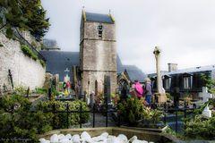 - Le petit cimetière du mont saint Michel -