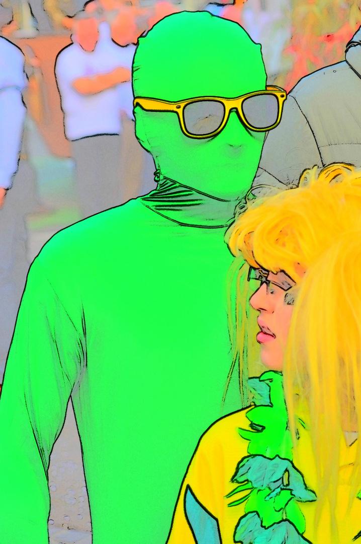 le petit homme vert