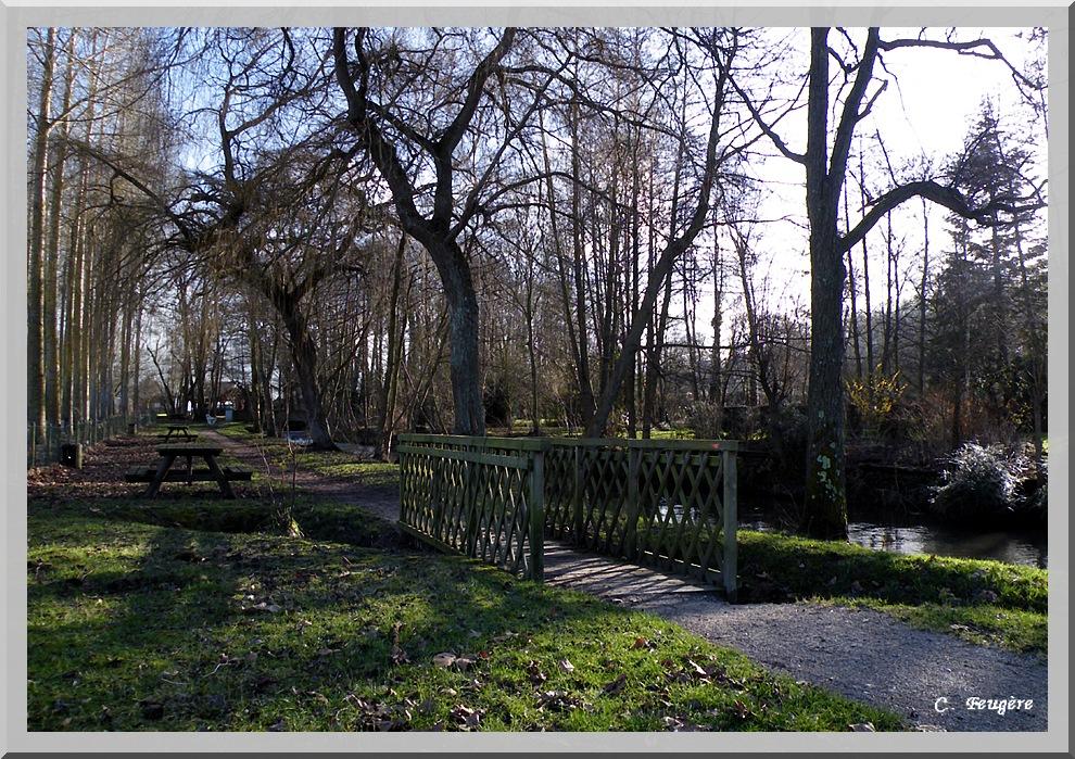 Le petit pont de l'Yères