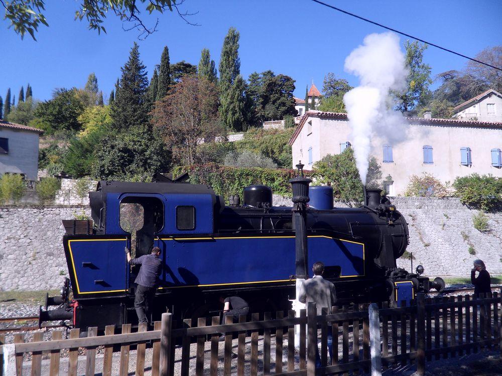 Le petit train des Cévennes ...
