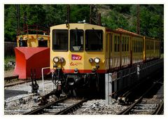 """Le Petit Train Jaune und sein """"Winterdienst"""""""