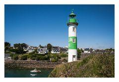 Le phare aval de Doëlan.